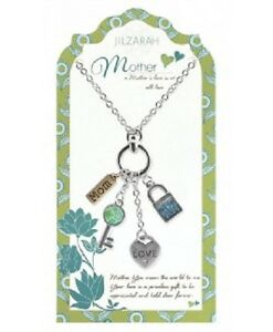 Mother Pendant Charm Necklace