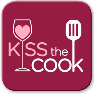Kiss The Cook Coaster