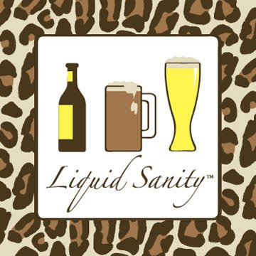 Liquid Sanity Beer Magnet
