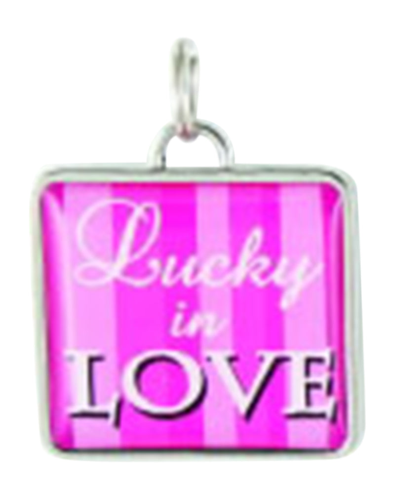 Ganz Pink Lucky in Love Charm