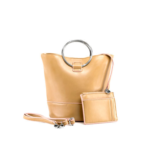 Madison Mini Camel Bucket Purse