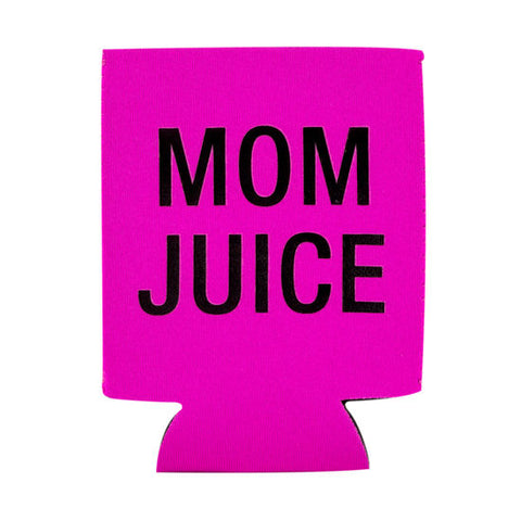 Mom Juice Flat Can Coozie