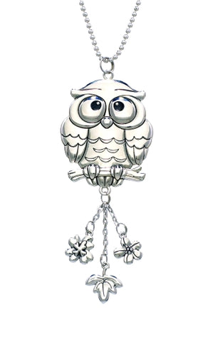 Owl  Rear View Mirrorl Car Charm