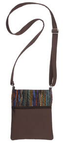 Shades of Fall Cotton Cross Body Purse