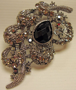 Rhinestone Vintage Inspired Pin Brooch