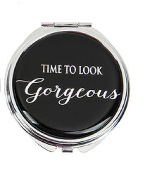 Time to Look Gorgeous Compact Mirror