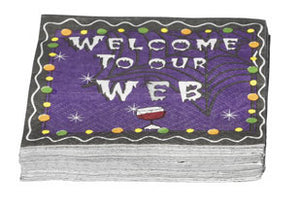 Halloween Cocktail Napkins Welcome To Our Web