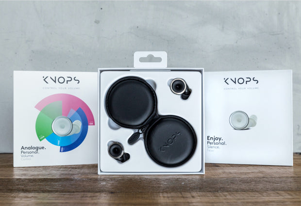 Knops - The volume button for your ears - e-makro
