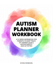 Load image into Gallery viewer, Autism Planner Workbook