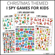 Load image into Gallery viewer, Christmas I Spy Bundle Pack