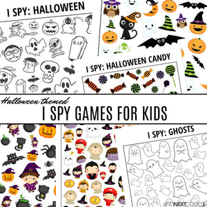 Halloween I Spy Bundle Pack
