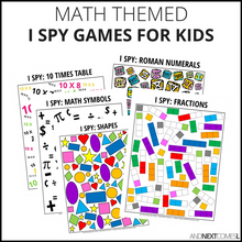 Load image into Gallery viewer, Math I Spy Bundle Pack