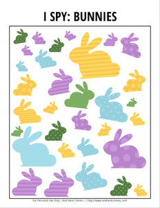 Easter I Spy Bundle Pack