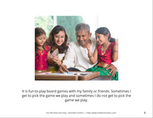 Load image into Gallery viewer, Playing Board Games Social Story