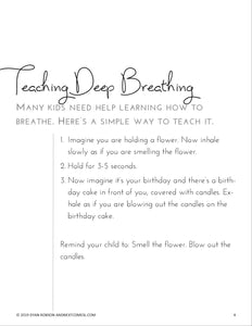 25 Calm Down Breathing Exercises for Kids