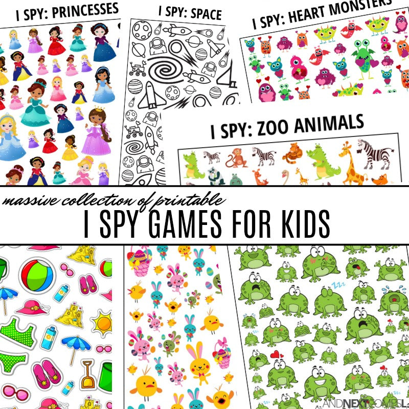 Massive I Spy Bundle Pack