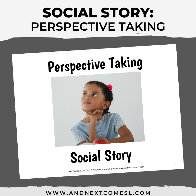 Perspective Taking Social Story