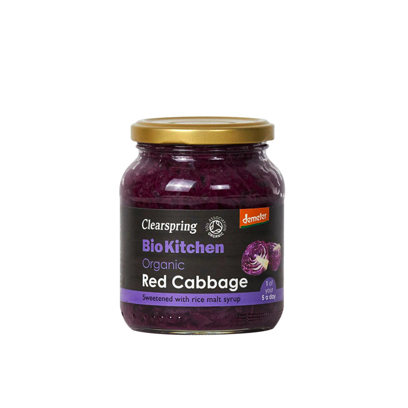 Clearspring Bio Kitchen Red Cabbage 355g