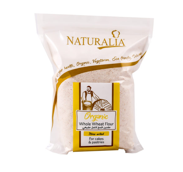 Naturalia Whole Wheat Flour For Cakes and Pastries 750g