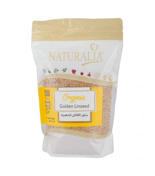 Naturalia Golden linseed 500g