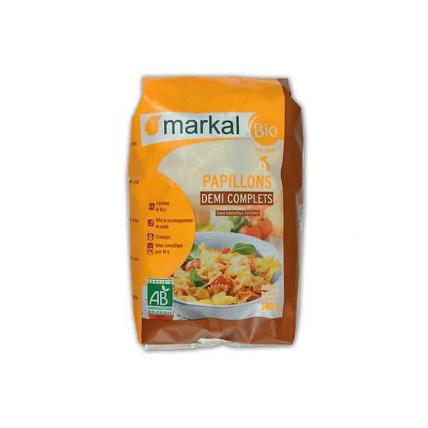 Markal Butterfly Shape Semi Wholegrain Pasta 500g