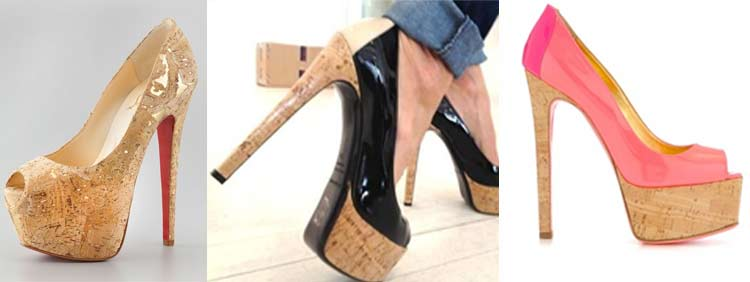 Cork High Heels These heels simply refer to the cork material used to make  them. They can vary in height and style, but the cork material makes for a  softer ... - 25 Types Of Heels: The Ultimate Guide – Clickless® High Heel