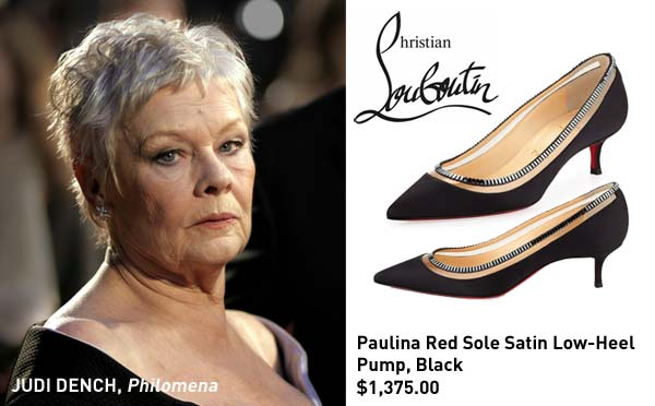 Judi Dench Oscar Shoes