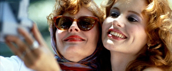 f67fd442888b Iconic  Thelma   Louise is what every woman thinks of when she thinks of  films about women helping women. World-weary Louise helps doe-eyed Thelma  out of ...