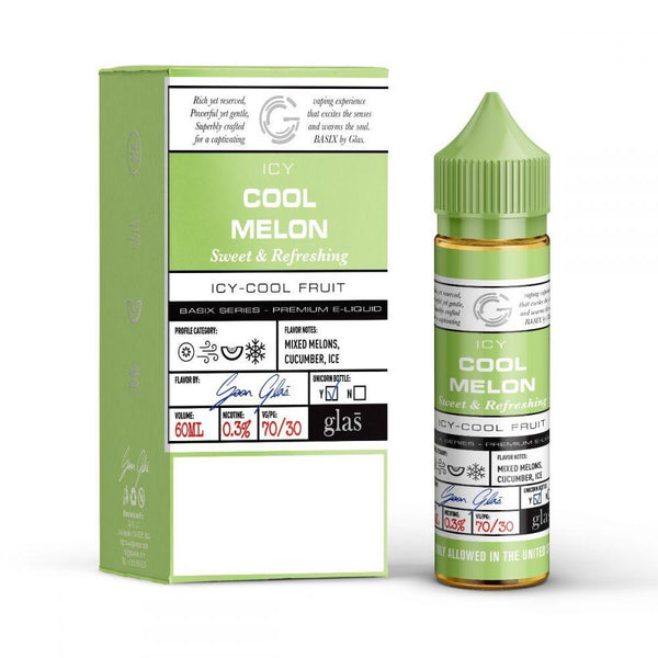 Glas Vapor - Basix Series - Cool Melon Ice
