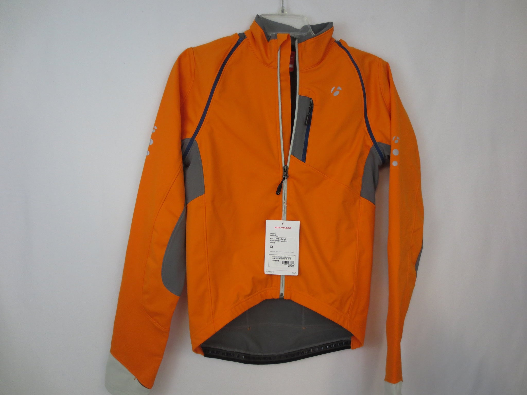 Bontrager RXL 180 Softshell Convertible Jacket- Men's
