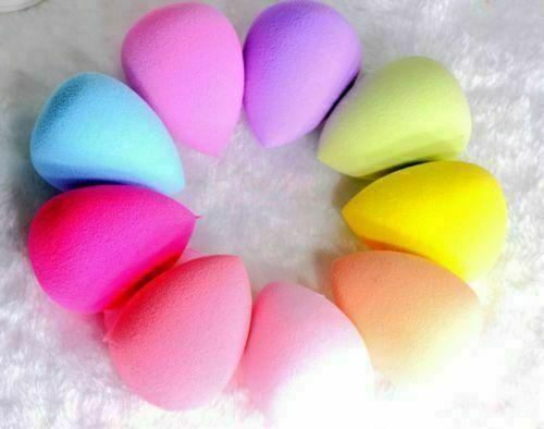 5 Pcs Multi-Color Makeup Blender Sponge