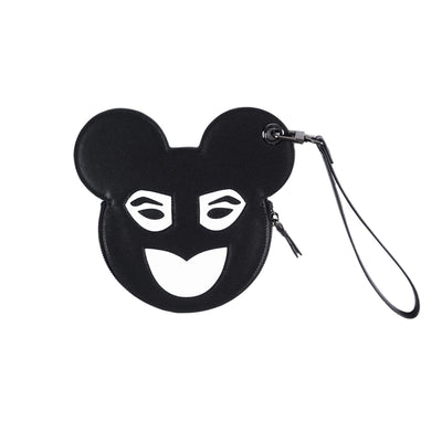 French New Wave Micky Mouse Style Coin Purse