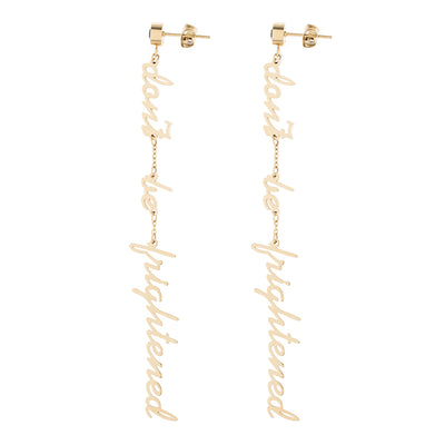Empty Town Don't Be Frightened Drop Earrings