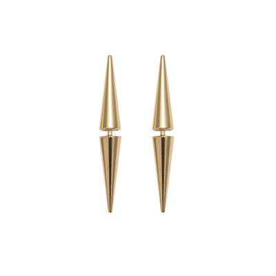 Mechanical Baby Spikes Stud Earrings