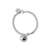 Black Sheep Metal Ball Pendant Bracelet