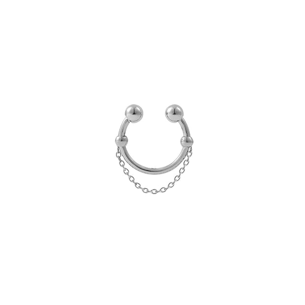 Kitam Club Nose Ring /Cuff Earring