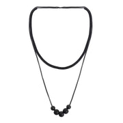 Kitam Club Metal Ball Decor Necklace Set