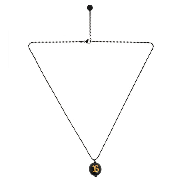 The Seven Deadly Sins-Pride Metal Ball Long Necklace