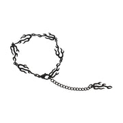 The Seven Deadly Sins- Lus Flame Shape Chain Bracelet