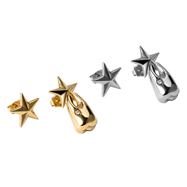 Tooth Fairy Star Stud Earrings