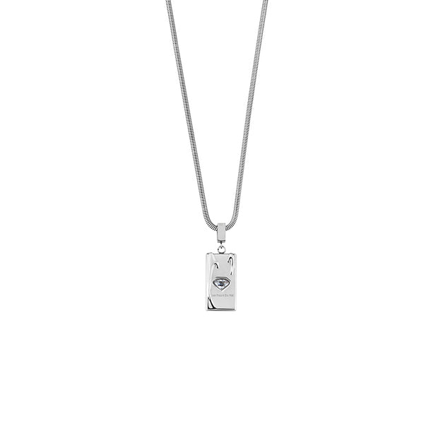 Les Fleurs du mal Crystal Decor Necklace