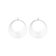 House of Hermes Multi-Layer Drop Earrings