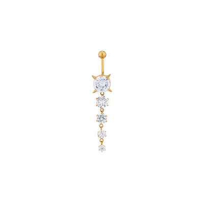 Crystal Decor Belly Ring