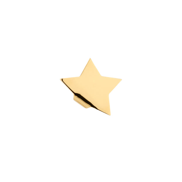 Blackheadshop star gold stud