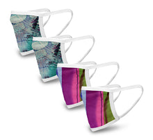 Load image into Gallery viewer, Islander 4 Pack Face Mask - Reusable & Washable - Antimicrobial Finish - USA Made