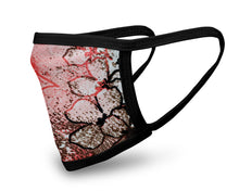 Load image into Gallery viewer, Romance Abstract Face Mask - Reusable & Washable - Antimicrobial Finish - USA Made