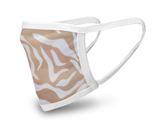 Load image into Gallery viewer, Golden Tiger Face Mask - Reusable & Washable - Antimicrobial Finish - USA Made