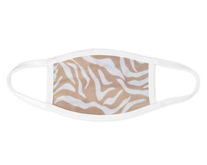 Golden Tiger Face Mask - Reusable & Washable - Antimicrobial Finish - USA Made