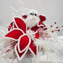 Load image into Gallery viewer, Snow Owl Christmas Centerpiece