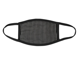 Single Stripe Face Mask - Reusable & Washable - Antimicrobial Finish - USA Made